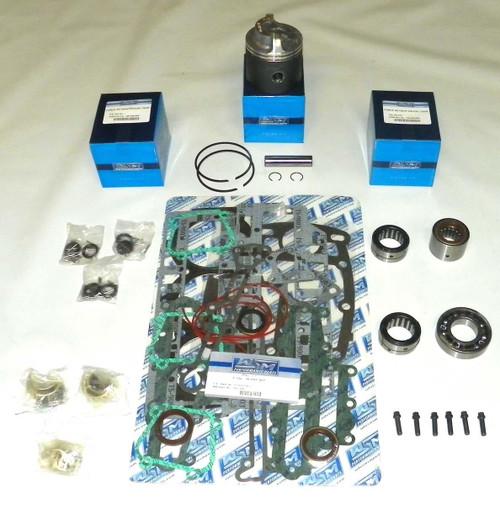 """Chrysler/Force 70 HP 3.375"""" Std. Bore Bottom Guided Power Head Rebuild Kit"""