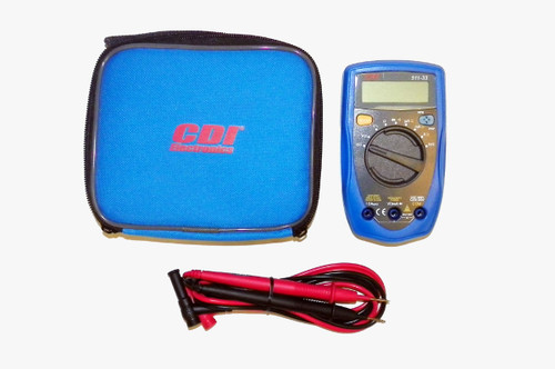 CDI Multimeter W/Volts, Ohms, Amps, Diode and Continuity Test