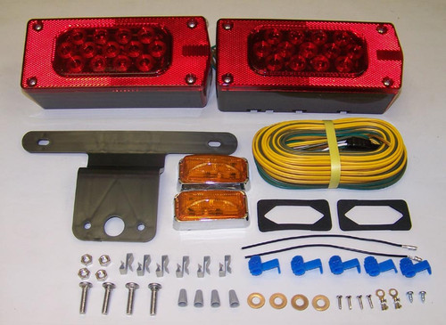 "Waterproof L.E.D. AeroPro Over 80""Combination Tail Light Kit"