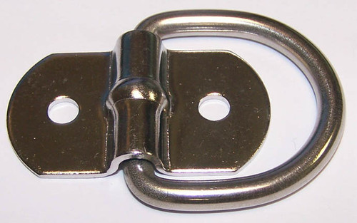 Stainless Steel Mounting Rope ring. 1,000 Capacity