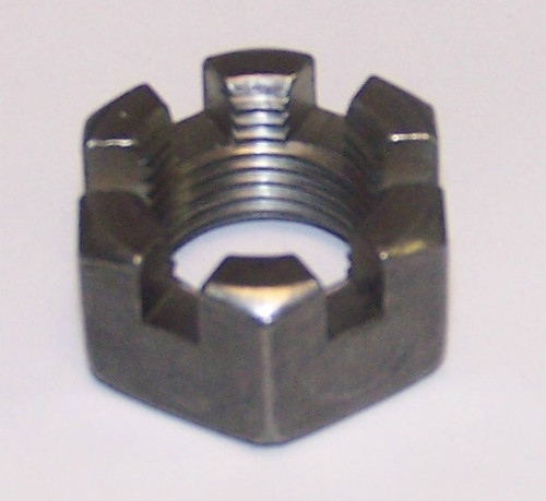 Axle Nuts Slotted Hex