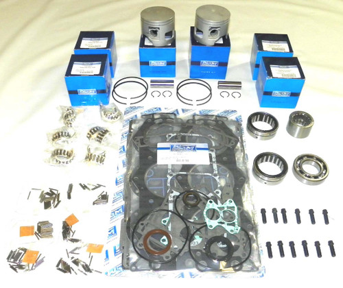 Yamaha V-6 90 degree Carbureted with Horizontal Reeds and 6E5 Rod Power Head Re-Build Kit