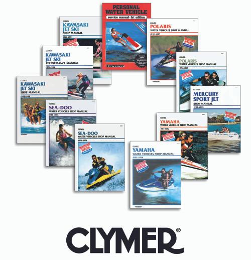 Polaris 1992-1995 Clymer Shop Manual