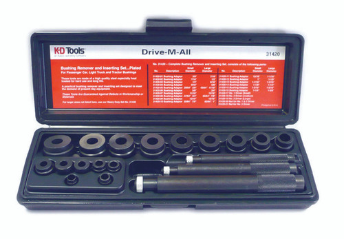 Bushing Remover and Installer Sets