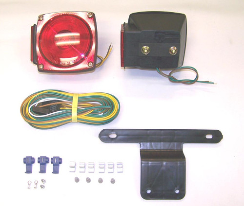 "(Stud Mount) Universal Submersible Under 80"" Light Kit (Without Clearance Lights)"