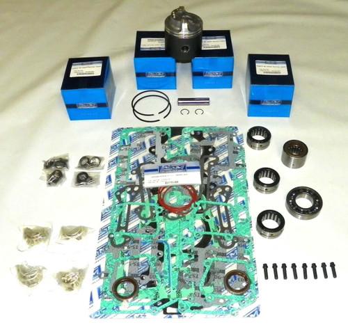 """Chrysler/Force 120 HP 3.375"""" Std. Bore Bottom Guided Power Head Rebuild Kit"""