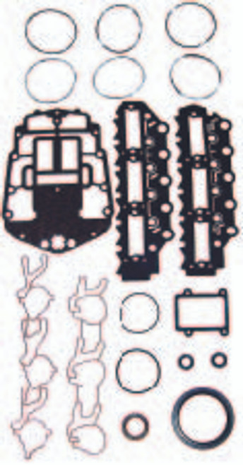 OMC 150 HP 90-91 , 175 HP 91-00 V6 60 Degree Carbureted   Complete Power Head Gasket Kit
