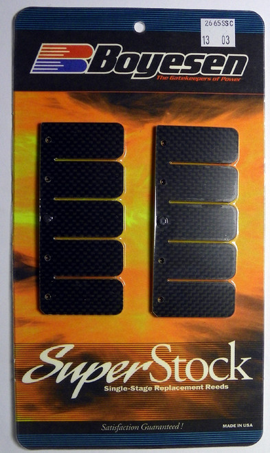 Single Stage Carbon Fiber: Mercury / Mariner 225 - 300 Hp Boyesen Reeds 2006-Up