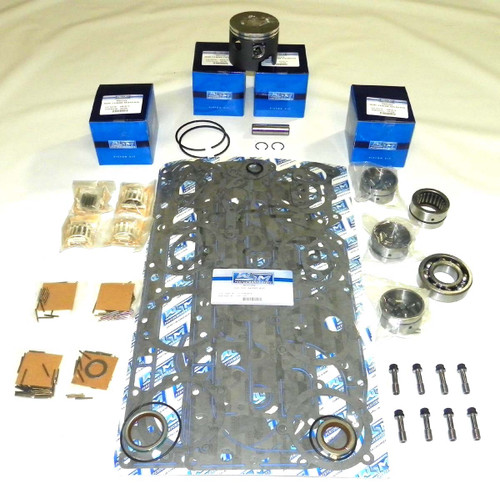 "Mercury 100-125 HP 4 cyl L4 3.5"" Bore Top Guided Power Head Rebuild Kit"