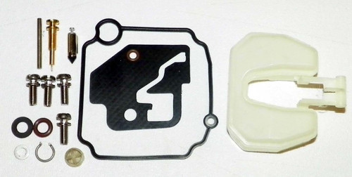 Carburetor Kit: Mercury / Mariner / Yamaha 9.9-15 Hp With Float