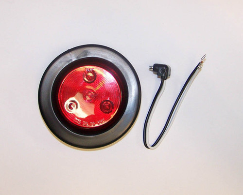 """2-1/2"""" L.E.D Marker/Clearance Light Red"""