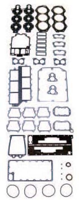 OMC 175 HP 1986-91 , 235 HP 1980-85 , 2.6 Liter 1982-86 V6 XFLOW BIG BORE  Complete Power Head Gasket Kit