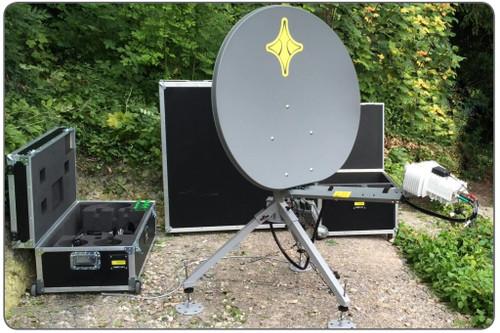 CONNECT 100T 98cm Transportable Ka-Band Terminal