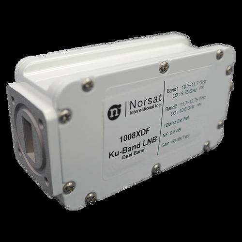 Norsat 1000 Series 1008XDFF Ku-Band Dual-Band LNB