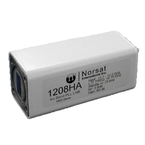 Norsat 1000 Series 1108HAF Ku-Band Single-Band LNB