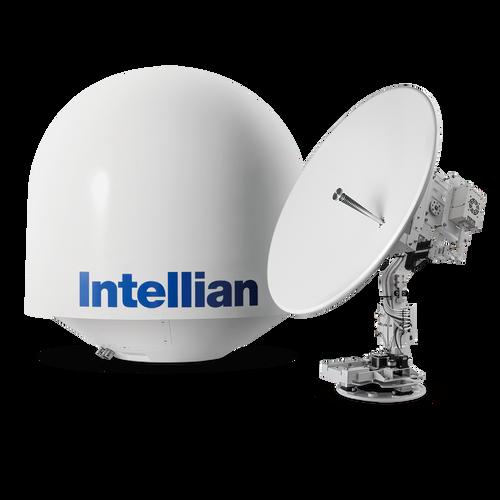 Intellian v130G Maritime Stabilized KU Band 3-axis Communication Antenna System with 125cm Reflector Diameter 8W BUC, 16W BUC or 25W BUC