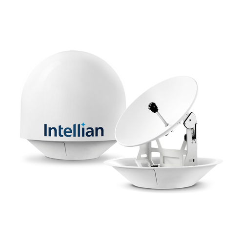Intellian i9P Auto Scew Most Powerful Marine US  Satellite TV System for Commercial Vessels and Super Yachts - All-Americas LNB