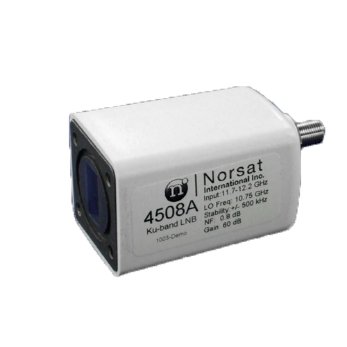 Norsat 4000 Series 4107CF Ku-Band Single-Band LNB