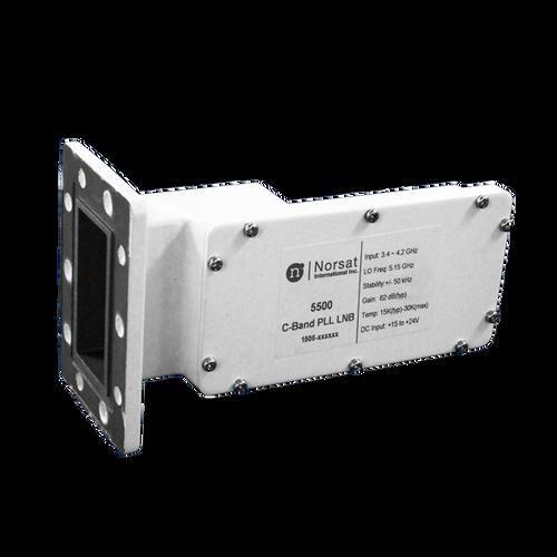Norsat 5000 Series 5100RF C-Band Single-Band LNB