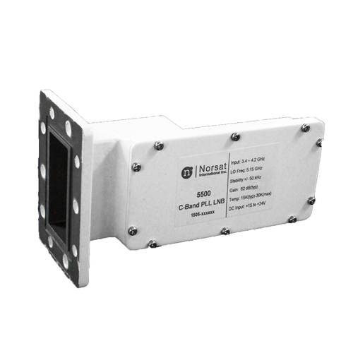 Norsat 5000 Series 5150IF C-Band Single-Band LNB