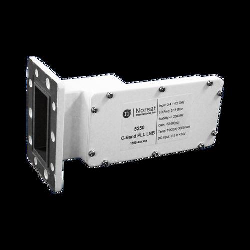 Norsat 5000 Series 5150RF C-Band Single-Band LNB