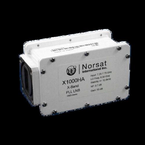 Norsat 1000 Series X1000HAF X-Band Single-Band LNB