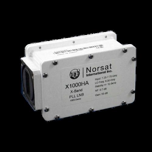 Norsat 1000 Series X1000HAN X-Band Single-Band LNB