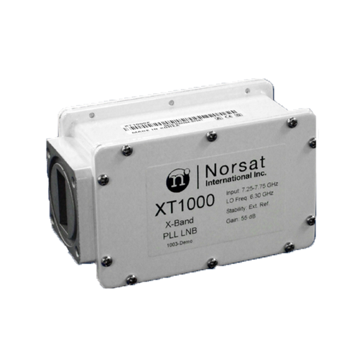 Norsat 1000 Series XT1000F X-Band Single-Band LNB