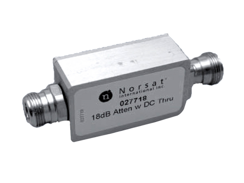 Norsat Line attenuator LA118F