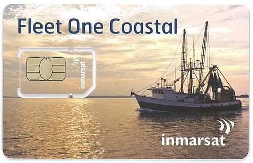 Inmarsat Fleet One Coastal Prepaid 50 Unit