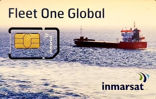 Inmarsat Fleet One Global Prepaid 50 Unit