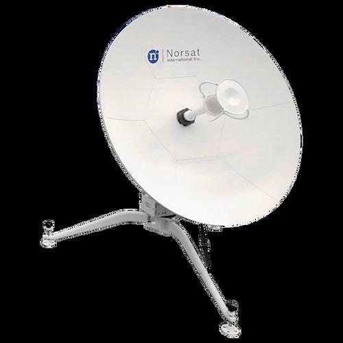 Norsat WFM090KU-RC WAYFARER 0.9m Ku-Band Manual Flyaway Antenna