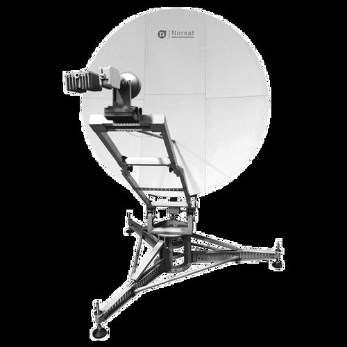 Norsat WFM180KU WAYFARER 1.8m Ku-Band Manual Flyaway Antenna