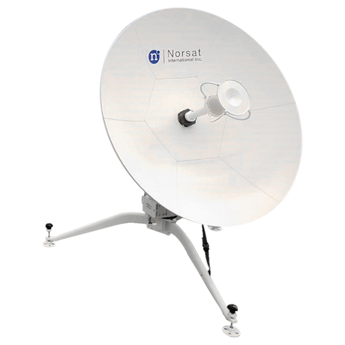 Norsat WFM080KA WAYFARER 0.8m Ka-Band Manual Flyaway Antenna