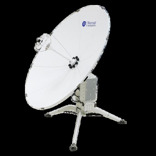 Norsat WFA120KU-IEC WAYFARER 1.2m Ku-Band Auto Flyaway Antenna