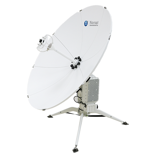 Norsat WFA120KA-UK WAYFARER 1.2m Ka-Band Auto Flyaway Antenna