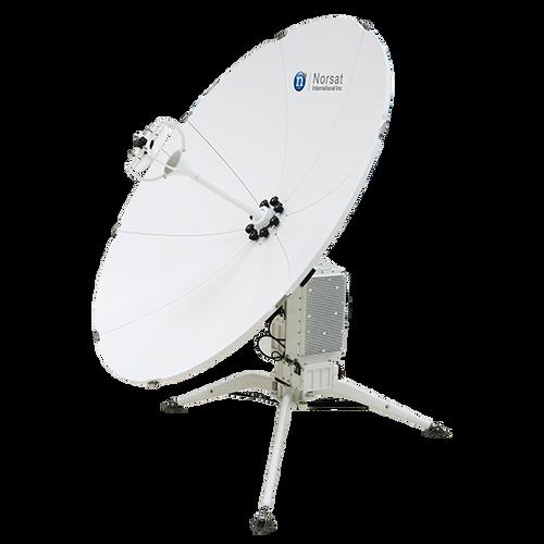 Norsat WFA120KA-IEC WAYFARER 1.2m Ka-Band Auto Flyaway Antenna