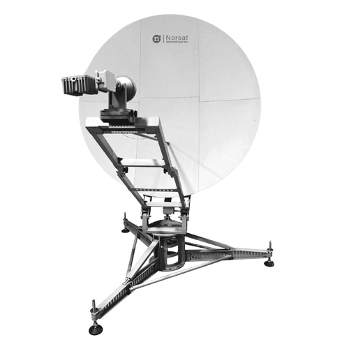 Norsat WFA120KU-EU WAYFARER 1.2m Ku-Band Auto Flyaway Antenna