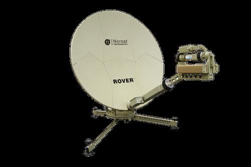 Norsat RO120KAM004 Rover 1.2 m Ka-Band Manual Acquire Flyaway Antenna
