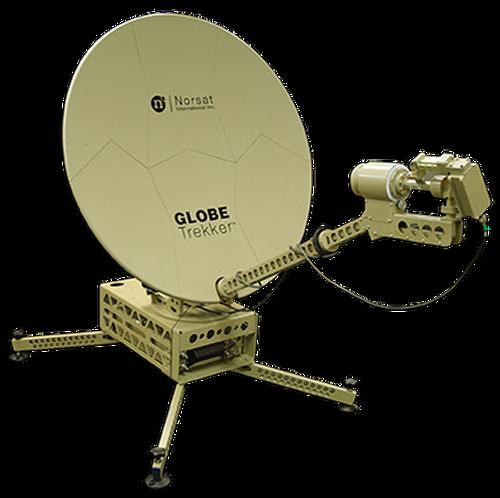 Norsat GT100X060 GLOBETrekker 1.0 m X-Band Auto Acquire Flyaway Antenna