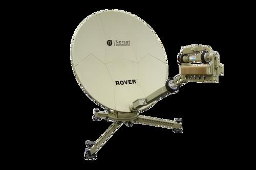 Norsat RO100KAM004 Rover 1.0 m Ka-Band Manual Acquire Flyaway Antenna