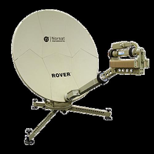 Norsat RO120KUE040 Rover 1.2 m Ku-Band Manual Acquire Flyaway Antenna
