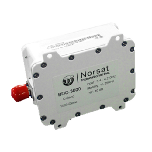 Norsat 3000 Series BDC-3000FD C-Band Single-band BDC