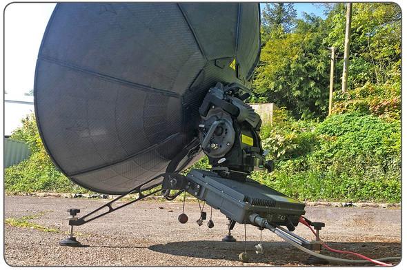 HORNET Flyaway Terminal 60cm X/Ku/Mil-Ka/Ka-Band Terminal