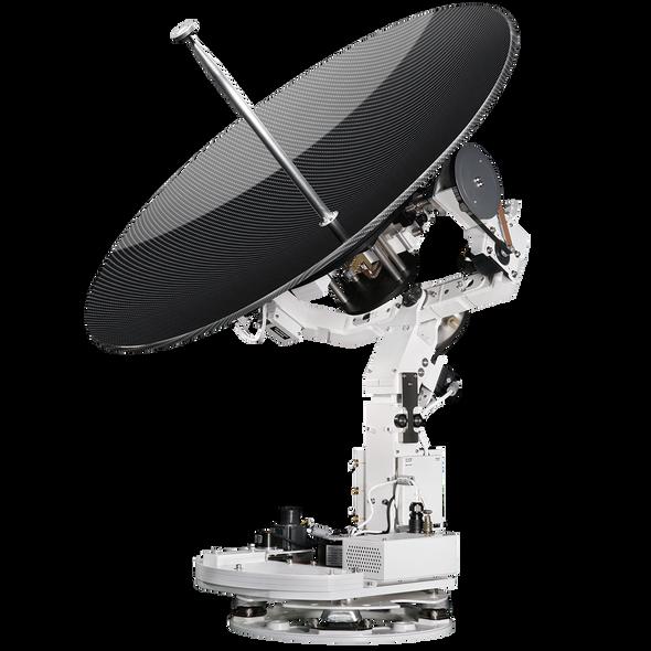 Intellian v100GX Antenna - 1m Ku-band to Ka-band GX convertible Communication Antenna System, 8W or 16W Extended BUC