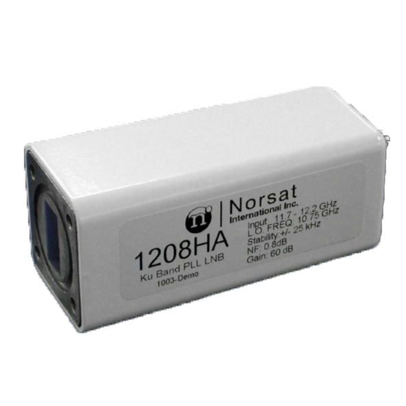 Norsat 1000 Series 1109HAF Ku-Band Single-Band LNB