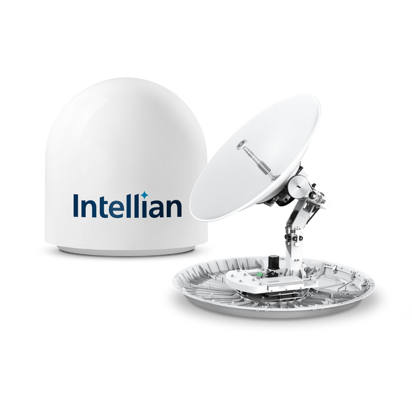 Intellian v100NX KU-KA Dual Band - GEO, MEO, LEO 1m Maritime VSAT Terminal