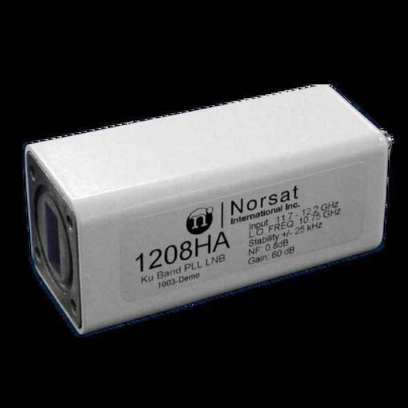 Norsat 1000 Series 1208HAF Ku-Band Single-Band LNB