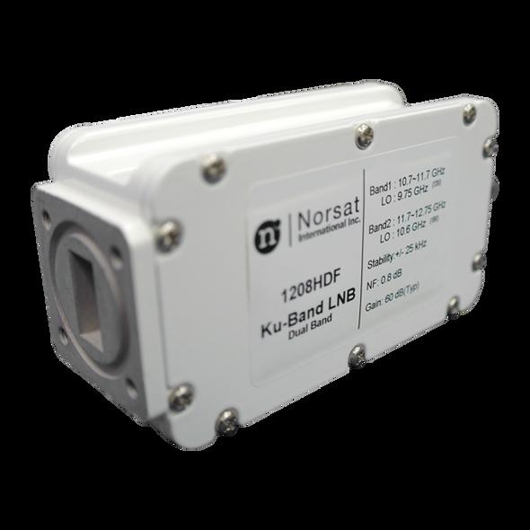 Norsat 1000 Series 1208HDFF Ku-Band Dual-Band LNB