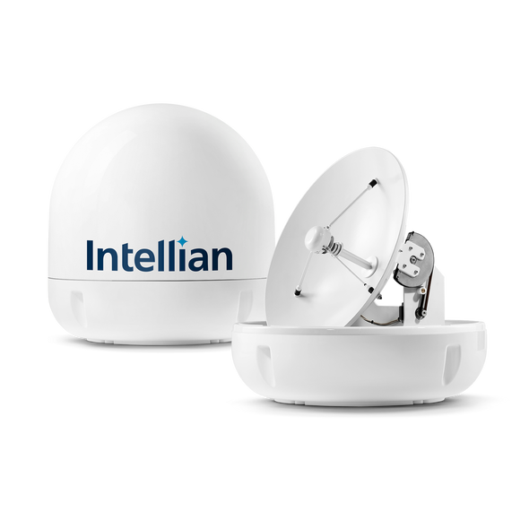 Intellian i5P Maximized Performance in a compact design Marine TV Antenna System -  - Europe, Sky Mexico, Sky Brazil